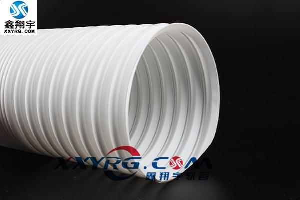 XY-0413耐高溫聚丙烯 PP萬向鋼絲伸縮風管 可定型