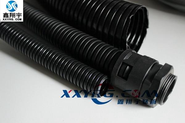 XY-0605穿線PA尼龍阻燃塑料波紋軟管