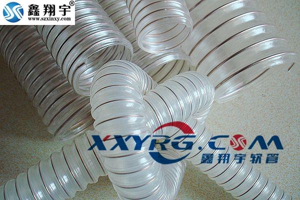 XY-0301耐磨pu透明鋼絲軟管0.6mm